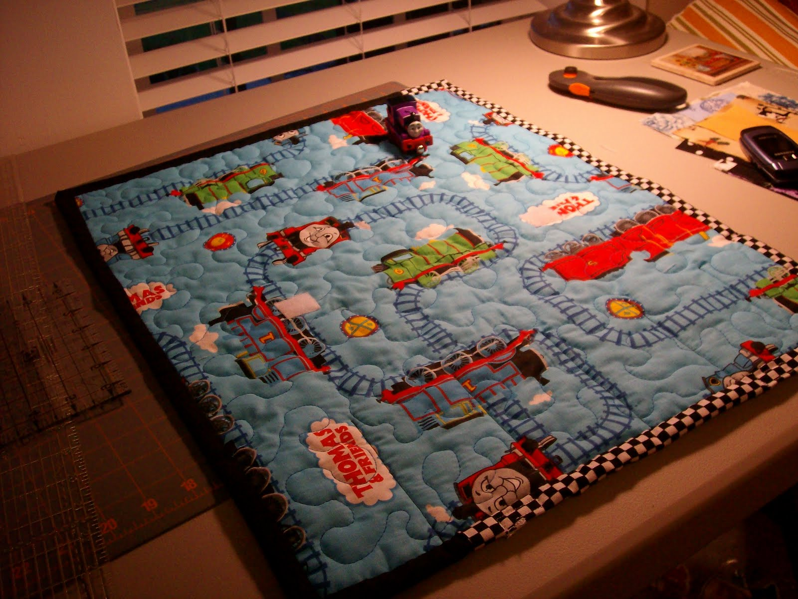 Homemaking Dreams Thomas The Train Quilted Travel Play
