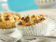 Southern With A Twist Jimmy Dean Sausage Mini Quiches