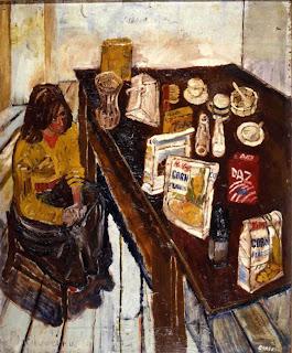 Sir John Lawes Art Faculty John Bratby Kitchen Sink Painter