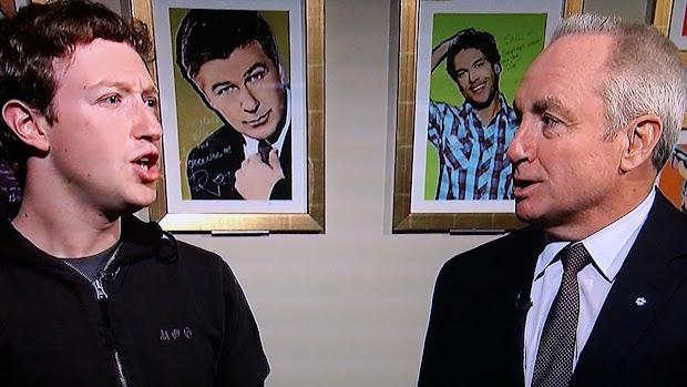 Mark Zuckerberg Guest With Jesse Eisenberg