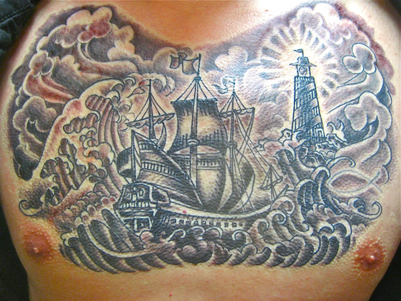 Treasure Chest Tattoo: PORTLAND, USA=: =MATTHEWS TREASURE CHEST=