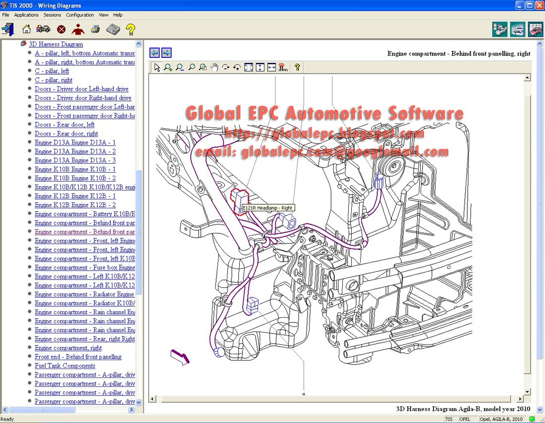 Global Epc Automotive Software Opel Vauxhall Holden Tis2000 Tis Agila Wiring Diagram 1100 G 05 2010 Want To Buy It Email Us Globalepccomgooglemailcom