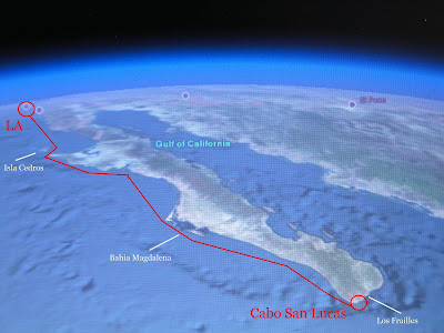 Los Angeles to Cabo San Lucas