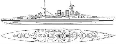 navy ship diagram of battleship hms hood. Black Bedroom Furniture Sets. Home Design Ideas