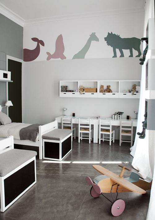 17 Best Images About Kids Bedrooms On Pinterest: Yarah Designs: Unisex Kids Room