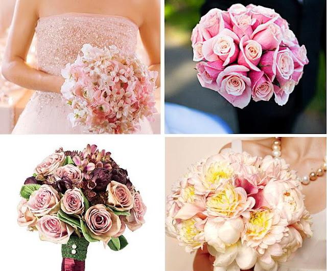 çanta gelin çiçekleri