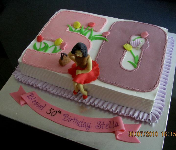 Lovely Cake Decoration The Latest Birthday Girl