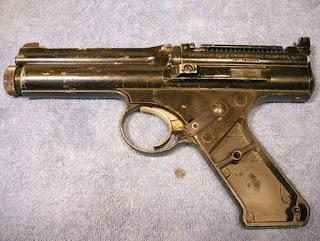 Another Airgun Blog: Crosman Model 600 Disassembly, Part 1