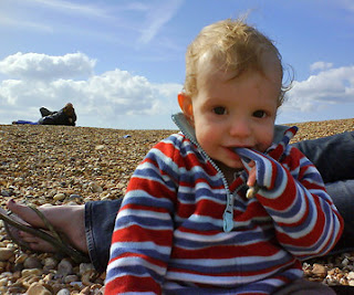 Alexander on the beach
