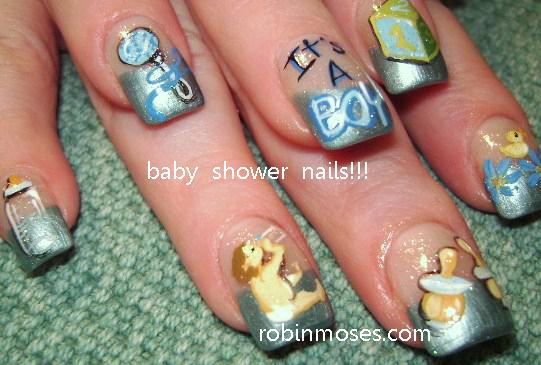 """Robin Moses Nail Art: """"nail art"""" """"robin moses"""" """"baby"""