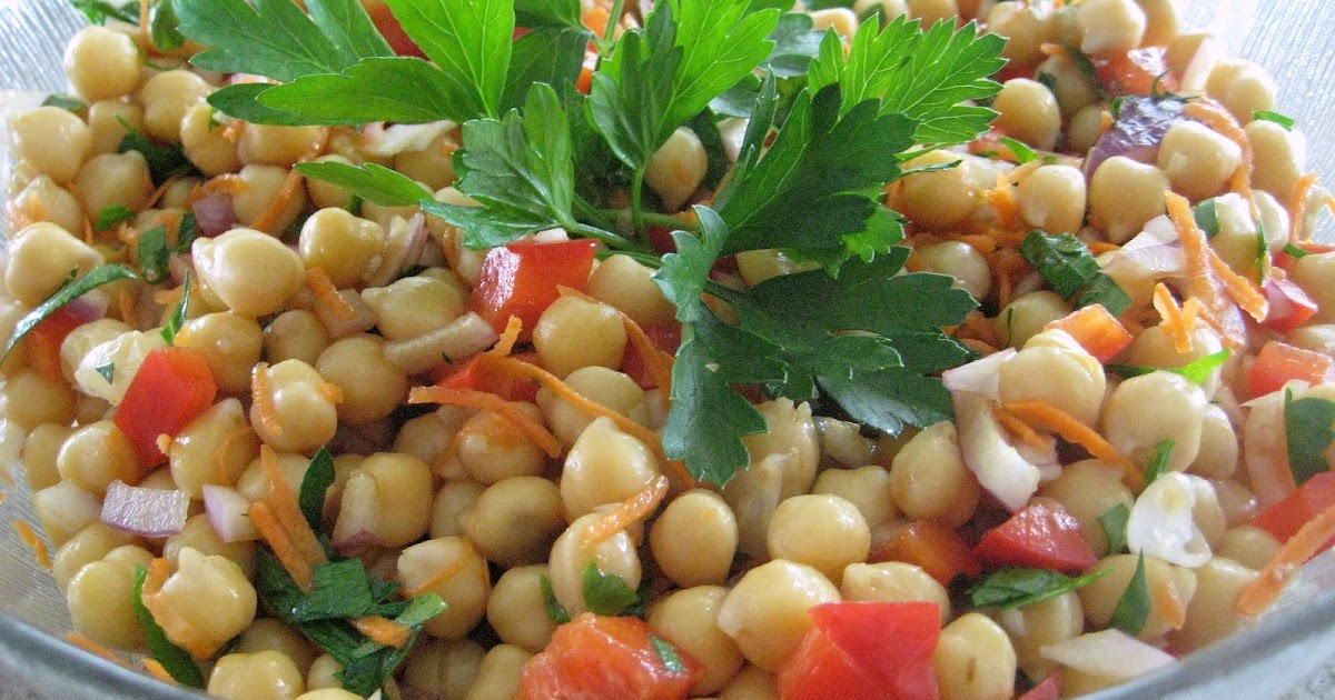 Equal Opportunity Kitchen: Chick Pea Salad