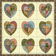 Michele Bilyeu Creates *With Heart and Hands*: Free Heart Quilt ... : quilts with hearts - Adamdwight.com
