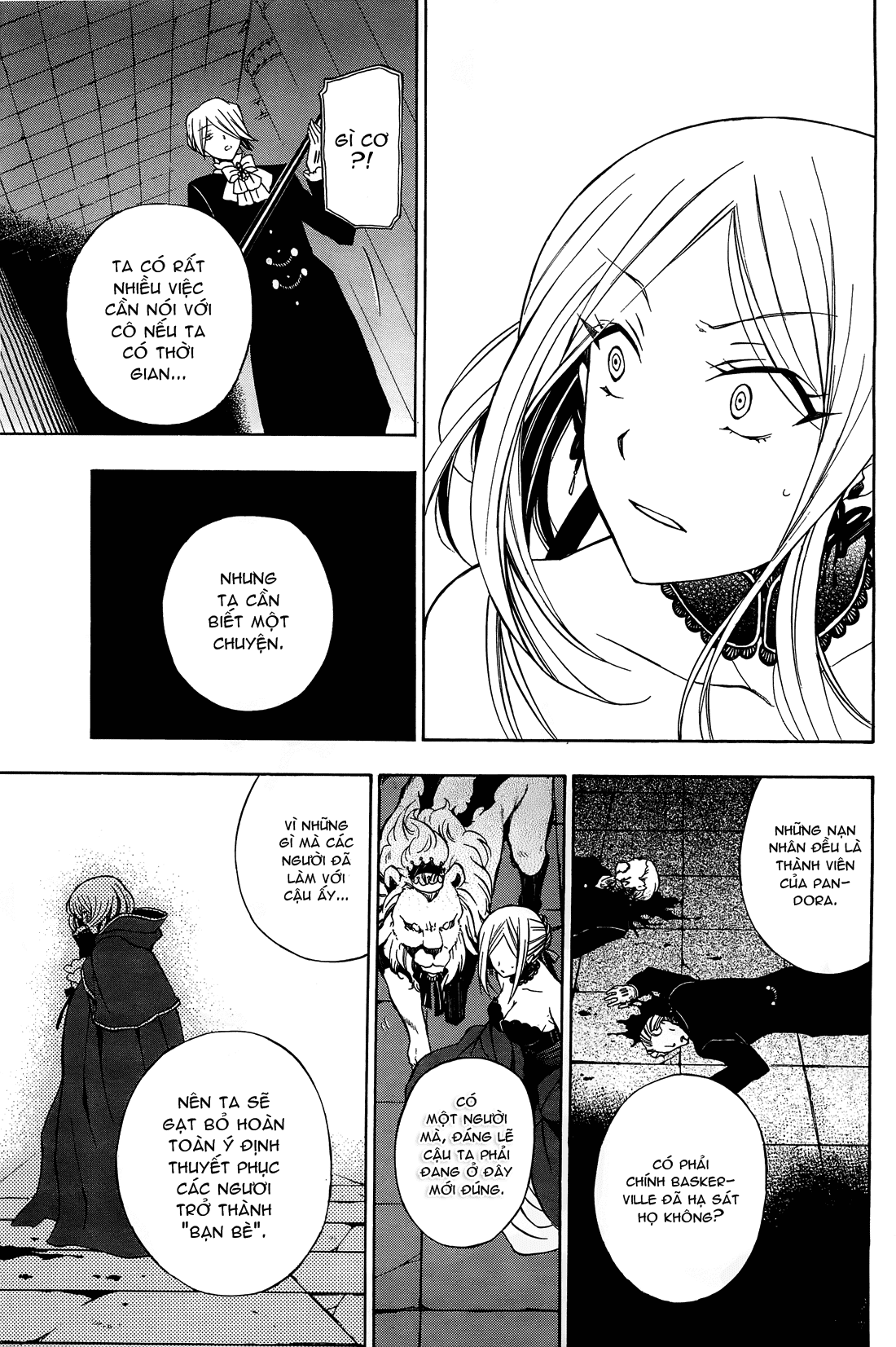 Pandora Hearts chương 052 - retrace: lii bloody rites trang 10