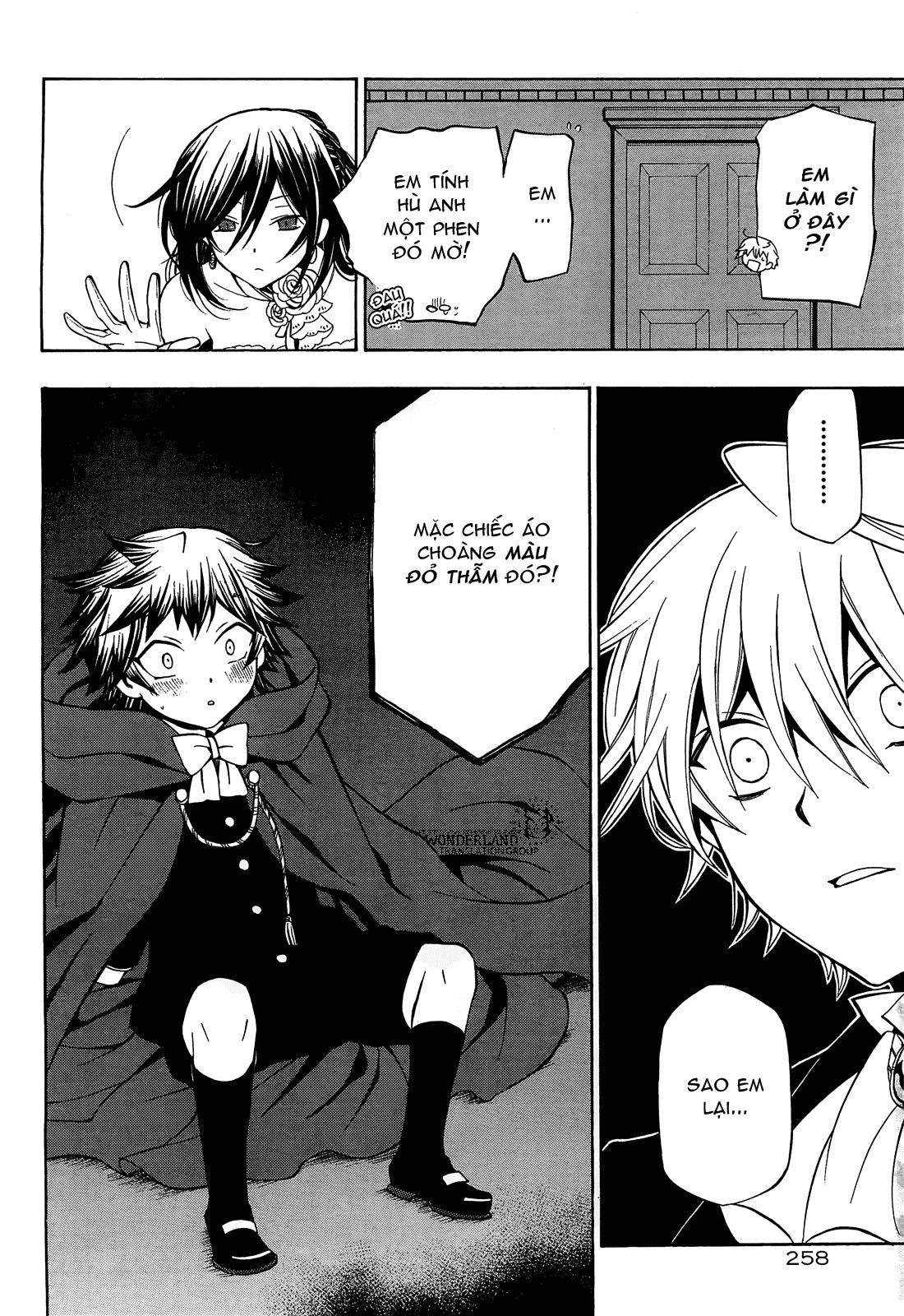 Pandora Hearts chương 052 - retrace: lii bloody rites trang 17