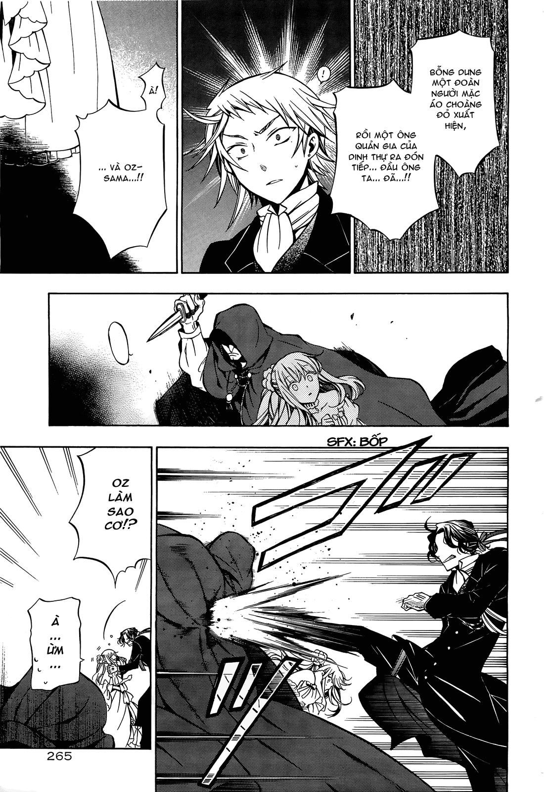 Pandora Hearts chương 052 - retrace: lii bloody rites trang 24