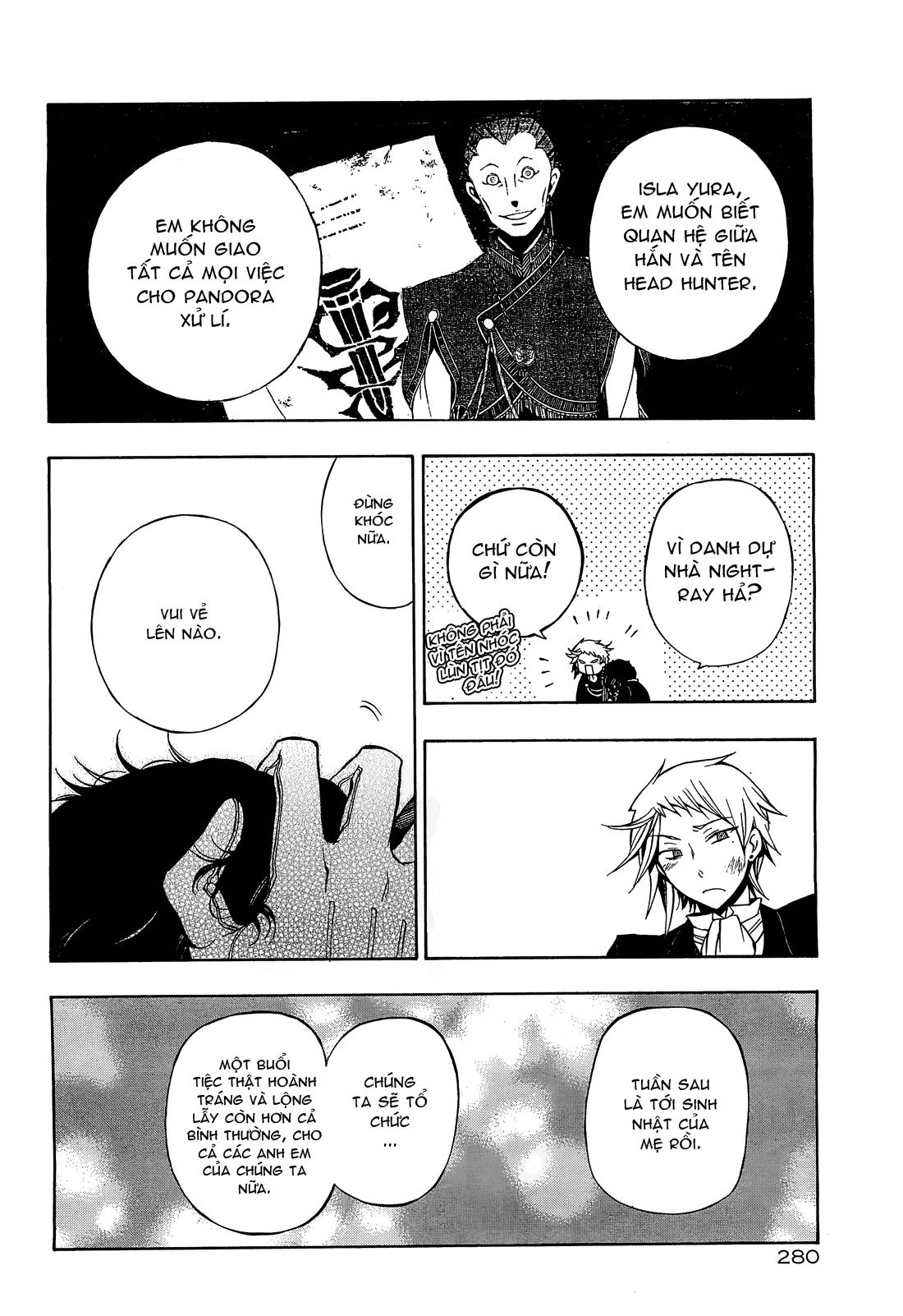 Pandora Hearts chương 052 - retrace: lii bloody rites trang 39