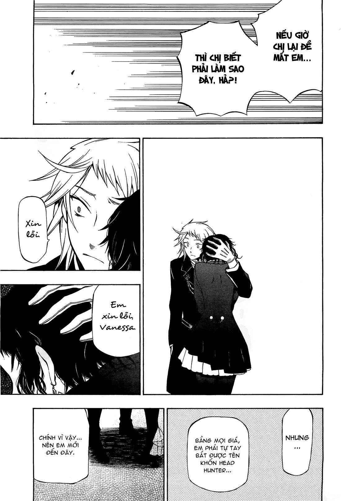 Pandora Hearts chương 052 - retrace: lii bloody rites trang 38