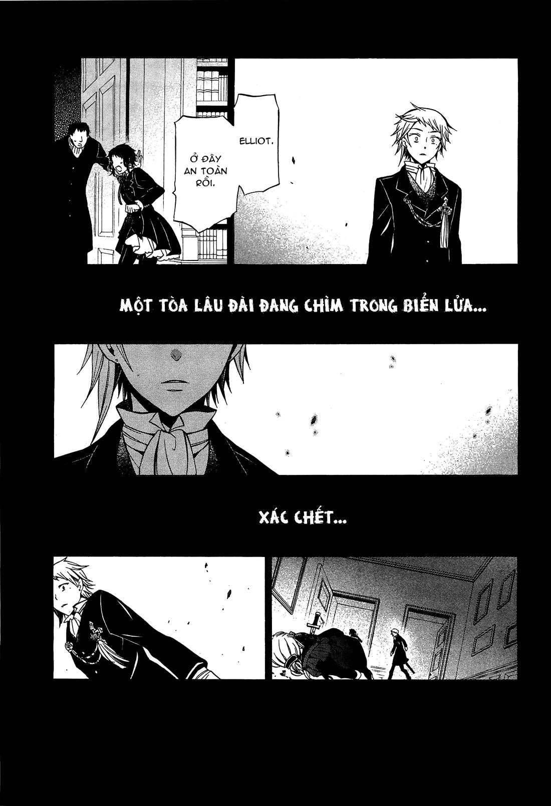 Pandora Hearts chương 052 - retrace: lii bloody rites trang 42