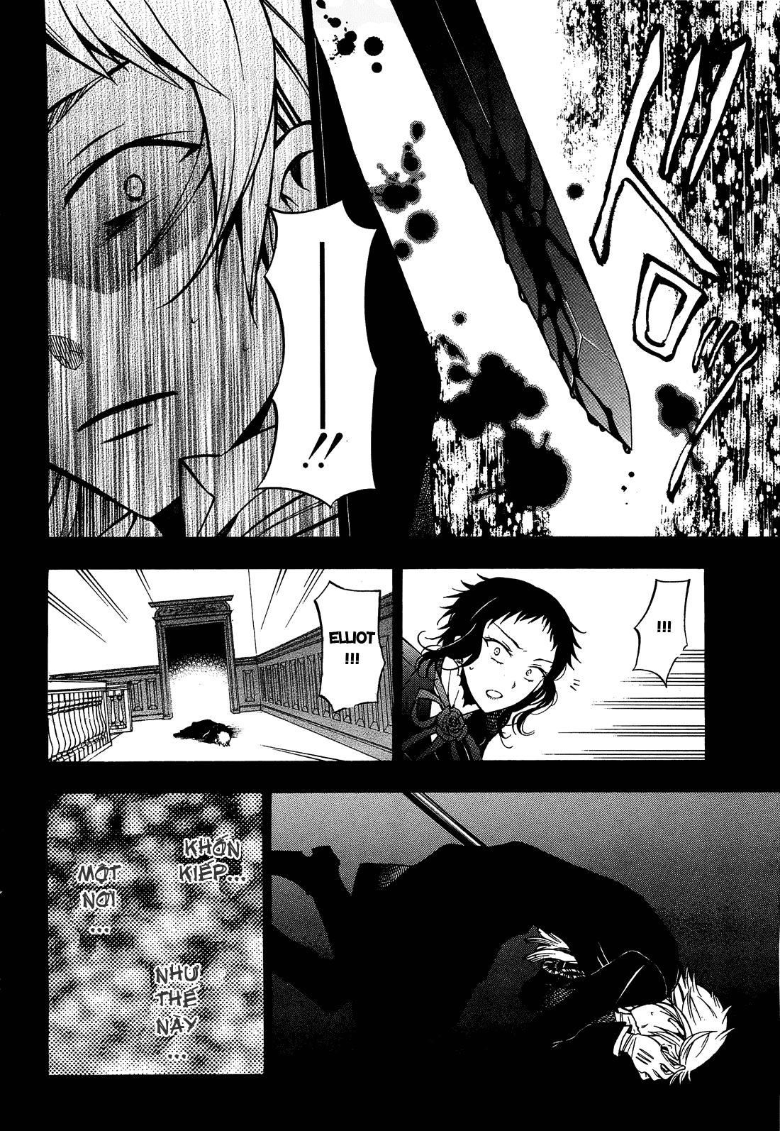 Pandora Hearts chương 052 - retrace: lii bloody rites trang 43