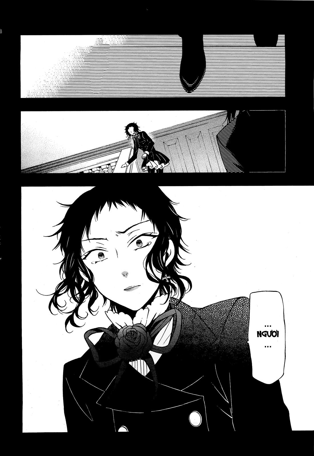 Pandora Hearts chương 052 - retrace: lii bloody rites trang 45
