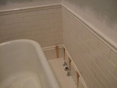 The Smiths Bathroom Baseboard