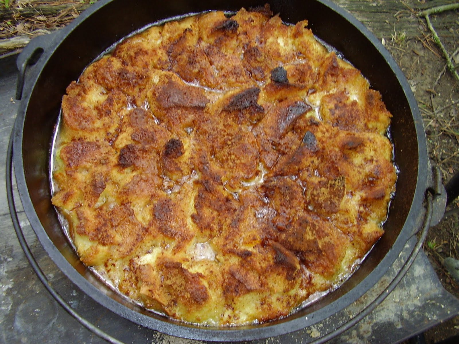 Dutch Oven Madness!: Day 208: Stuffed Peach French Toast ...