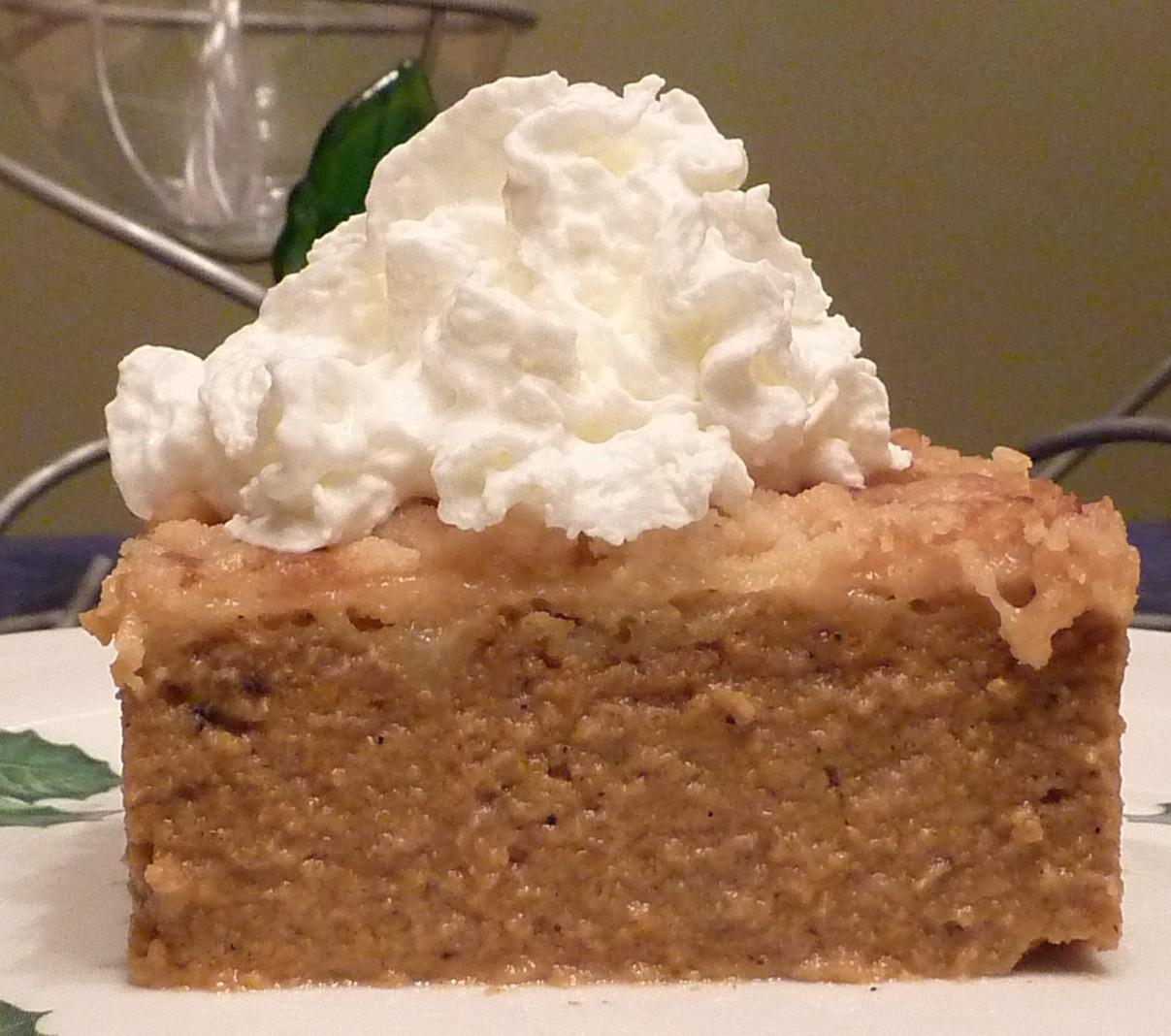 The Reliant Self: Favorite Pumpkin Dessert