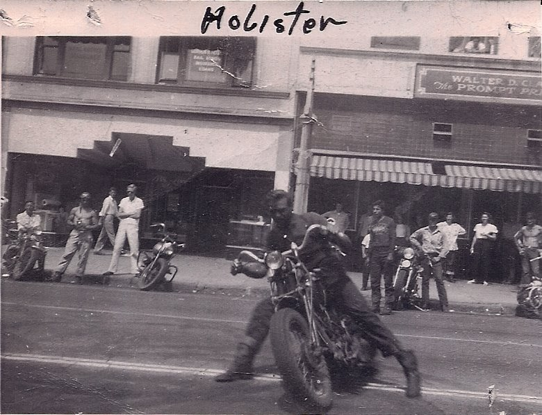 Wing Nuts Motorcycle Club Little Bobby Kelton Holister 1947