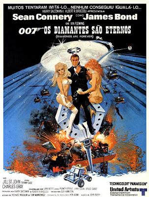 007: Os Diamantes São Eternos - DVDRip Dual Áudio
