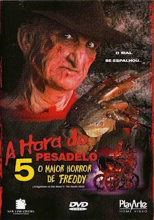 Resultado de imagem para A HORA DO PESADELO 5 - O MAIOR HORROR DE FREDDY