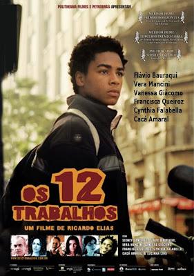 Os 12 Trabalhos - DVDRip Nacional
