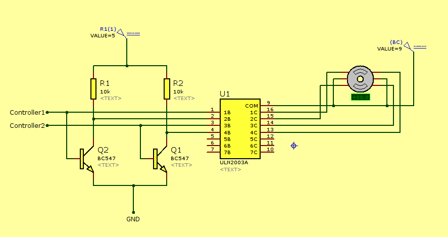 wire stepper motor driver circuit diagram wirdig wire stepper motor driver on 4 wire stepper motor wiring