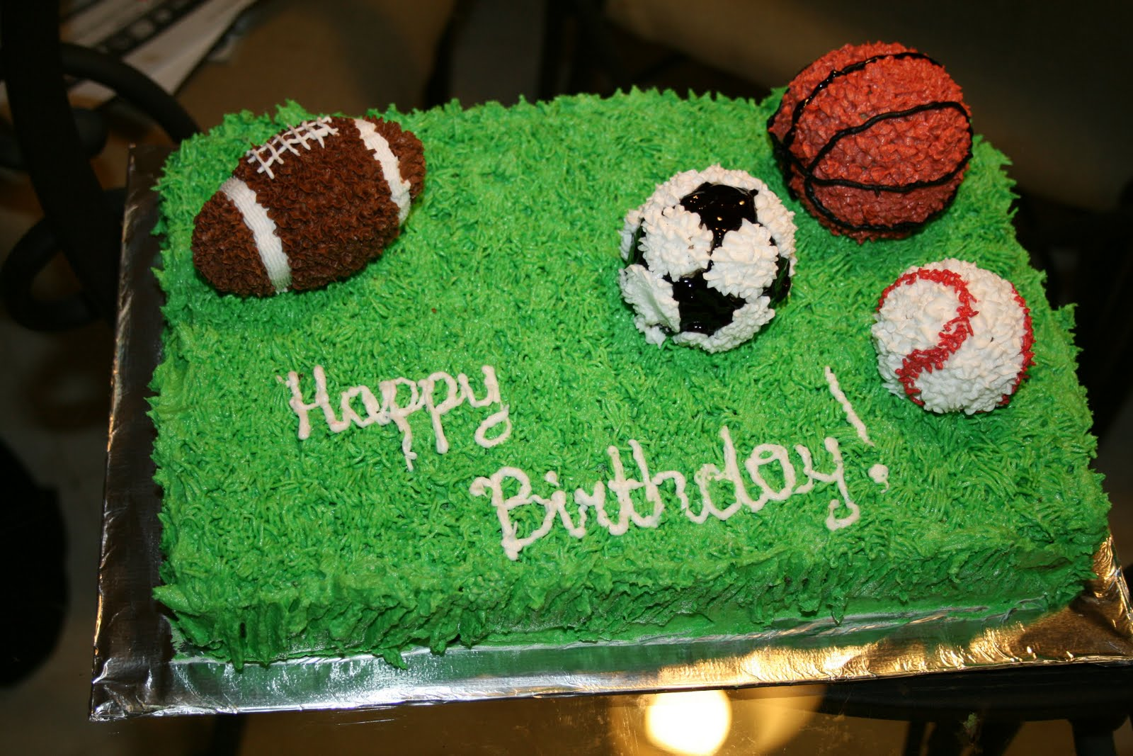 Slodka Lina Cakes Sports Cake