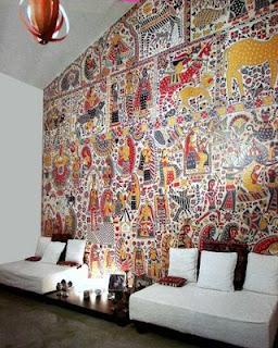 madhubani wall painting