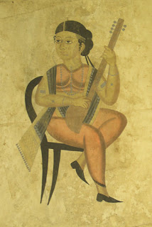 Kalighat pat an art of Bengal