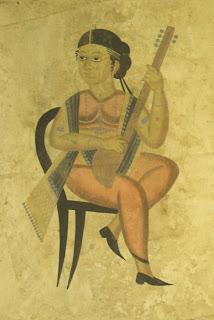 Kalighat pat an art of Bengal