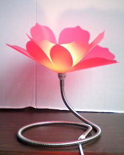 lamp in the design of lotus
