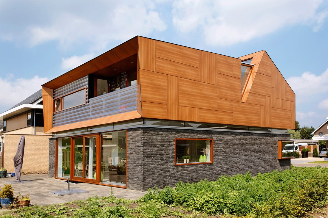 Casa baetens jager janssen architecten blog y arquitectura - Imitacion madera para fachadas ...