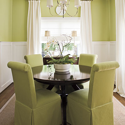 First Came Love: Dining Room Do-Over: Part I - Dining Rooms Green Walls