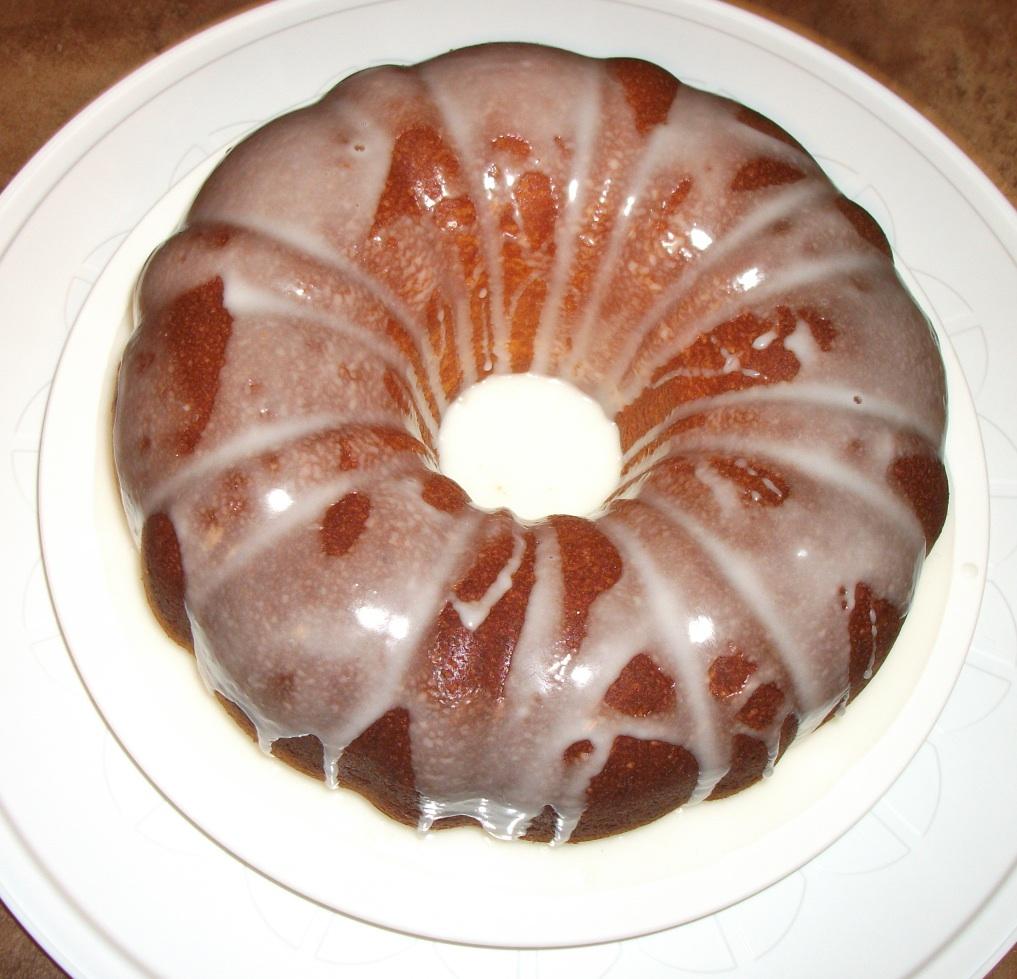 First Came Love: Recipe: Lemon Glaze Bundt Cake