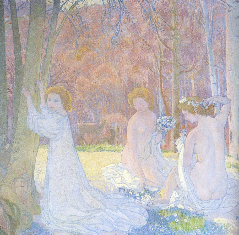 Pittore Francese Maurice Da Cosa Nasce Cosa Maurice Denis