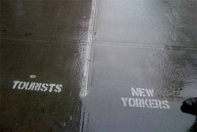 Tourist Lane, New York City