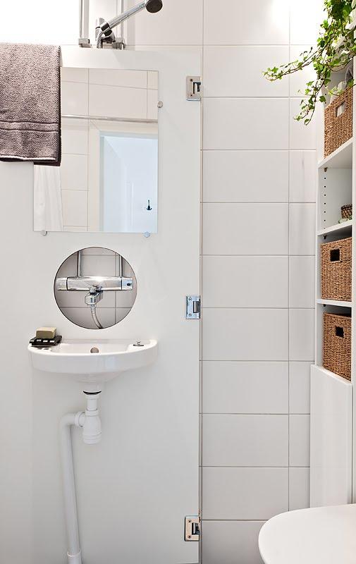 Blog Achados de Decoração  APARTAMENTO PEQUENO, PEQUENO, MAS FOFO, FOFO -> Decorar Banheiro Minusculo