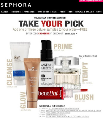 Beauty & All That: Sephora Sundays #4- Take Your Pick Deluxe