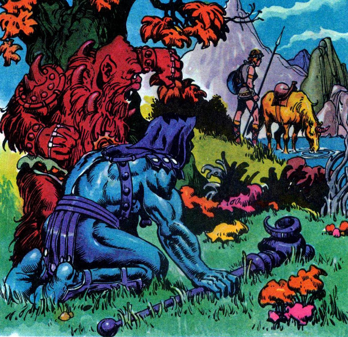 Beastman Vs Skeletor