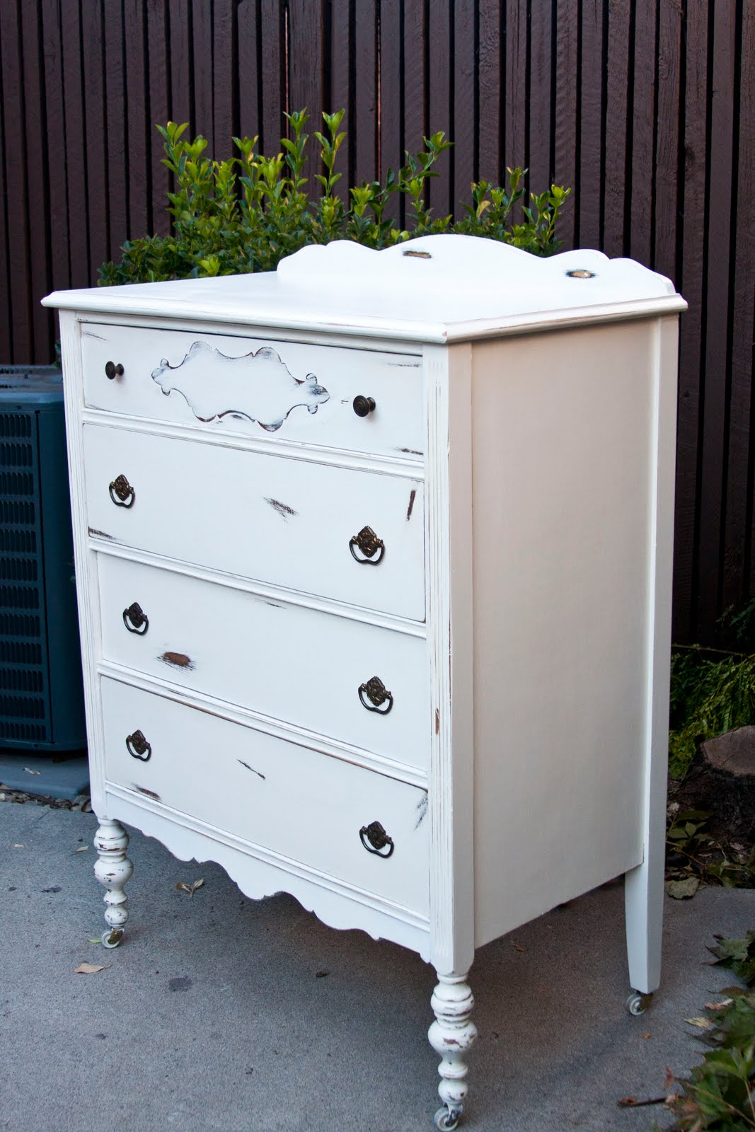 Modernly Shabby Chic Furniture Classic OffWhite Dresser