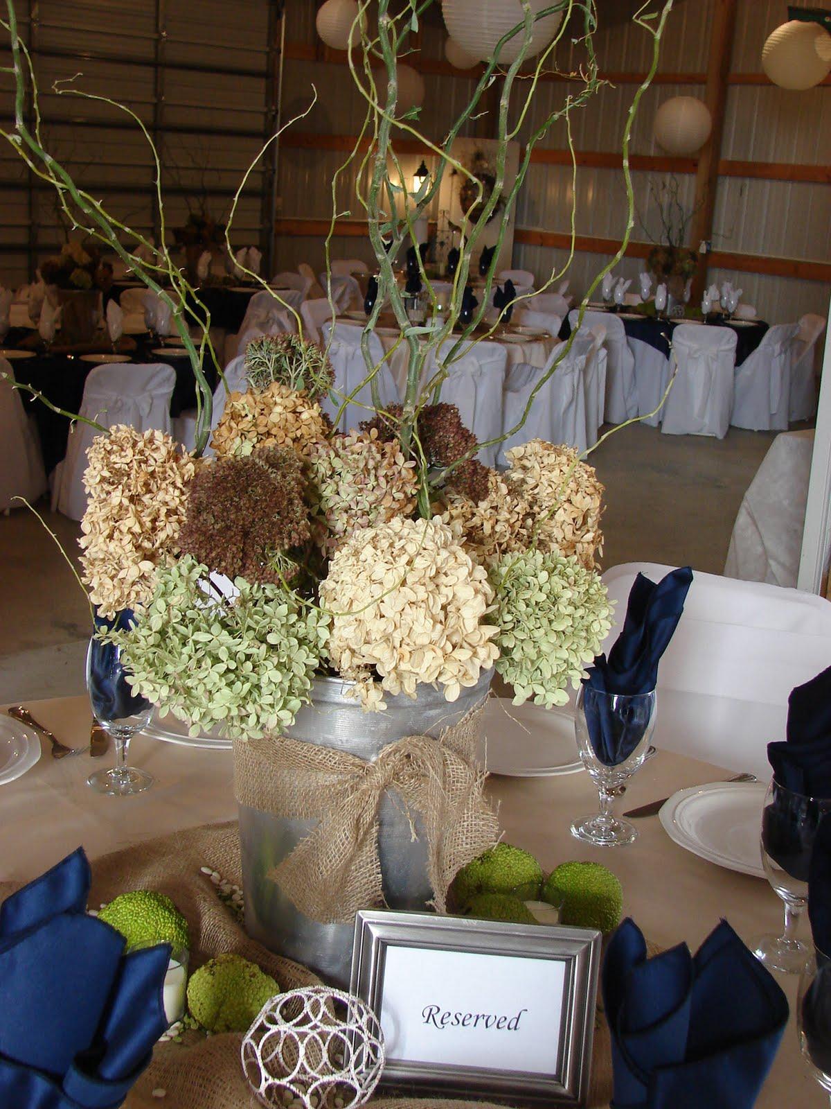 "Cobblestone Farms: Wedding Table Centerpieces - ""Country ... - photo#15"