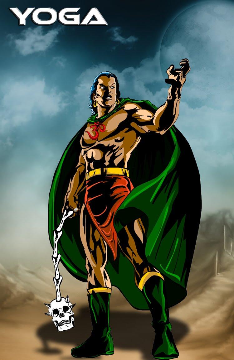 Photoshop Work Indian Superheroes Artwork