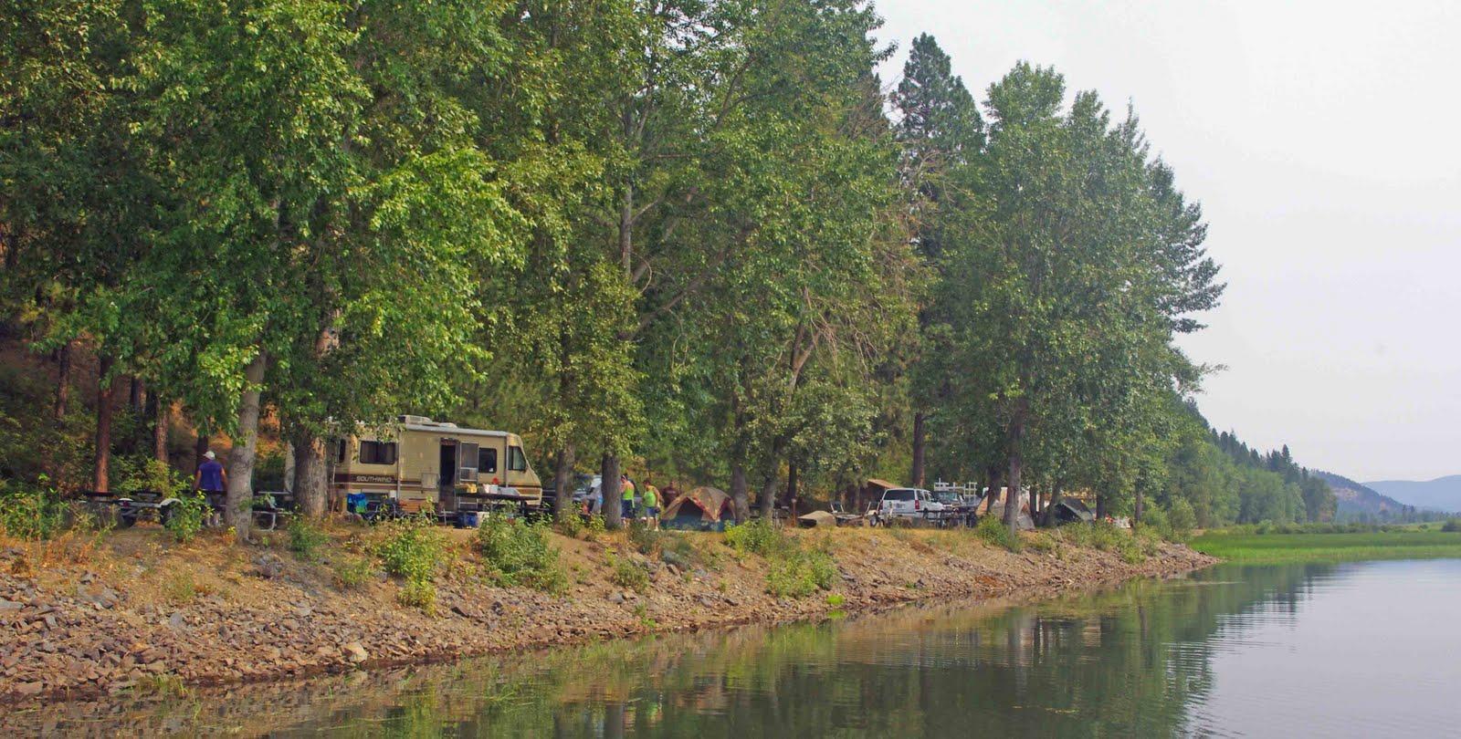usbackroads™: Lower Coeur d'Alene River, Idaho