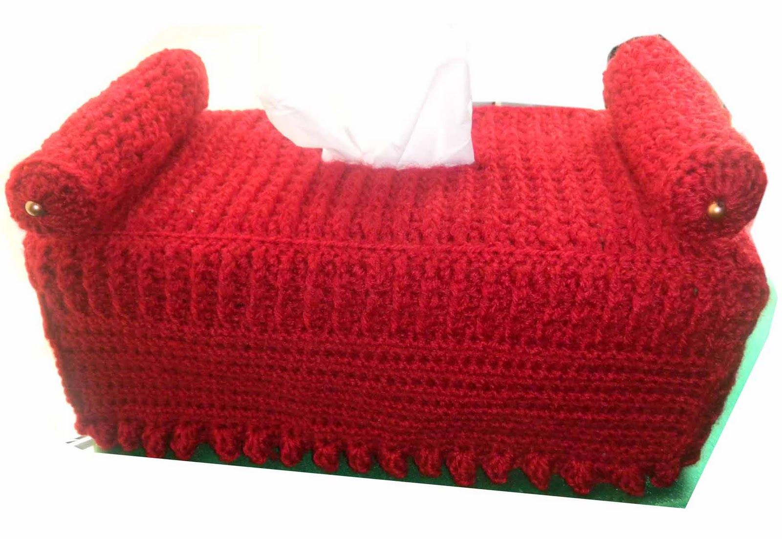 crochet sofa cover patterns chelsea sandvicrochet diwan tissue box